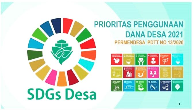 Kemendesa Terbitkan Program Prioritas Dana Desa 2021
